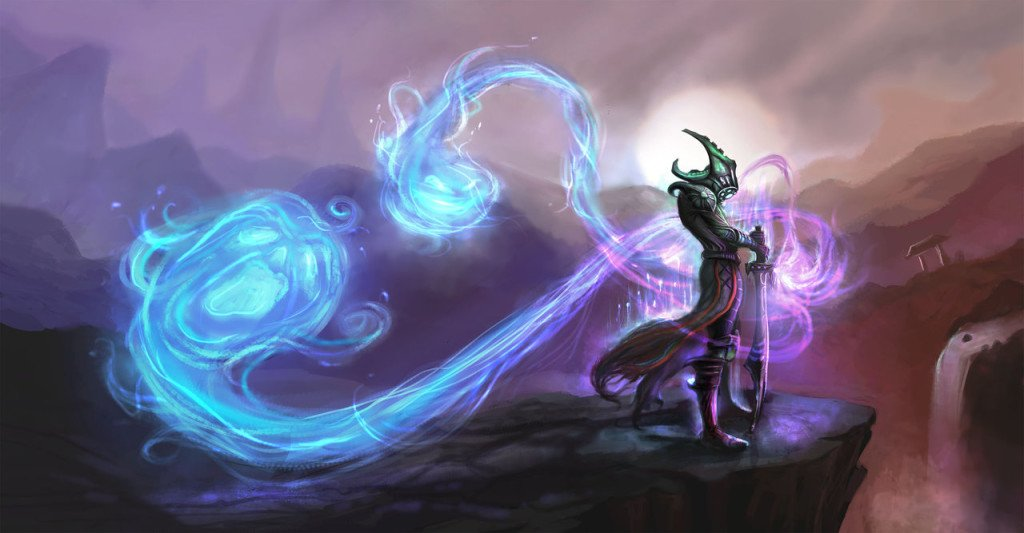 master_yi_meditating_with_twin_shadows_by_morgorth-d5xzjhj