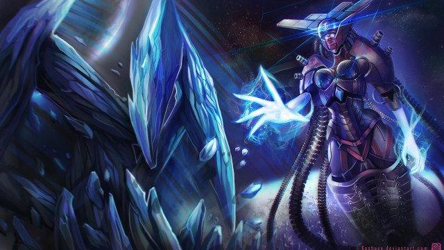 league_of_legends_lissandra_space_cyborg_splash_by_kashuse-d6wt6ur