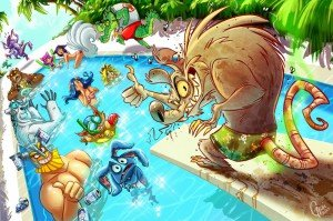 047_Twitch's Pool Party