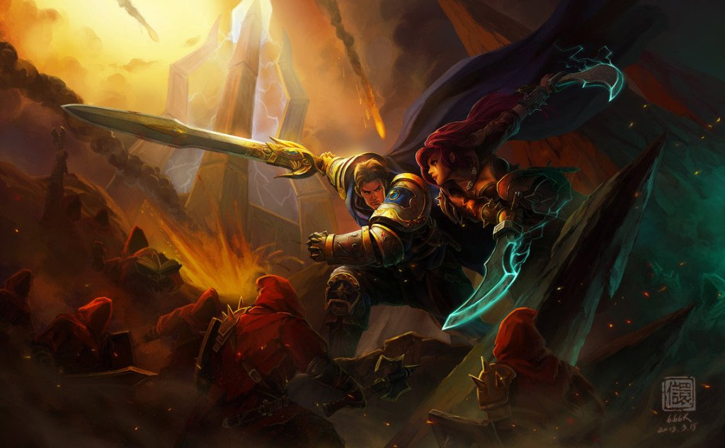 blade_and_sword_by_6kart-d5y2g8g_katarina_garen_lol_fight_banner