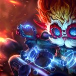 heimerdinger art splash ikona