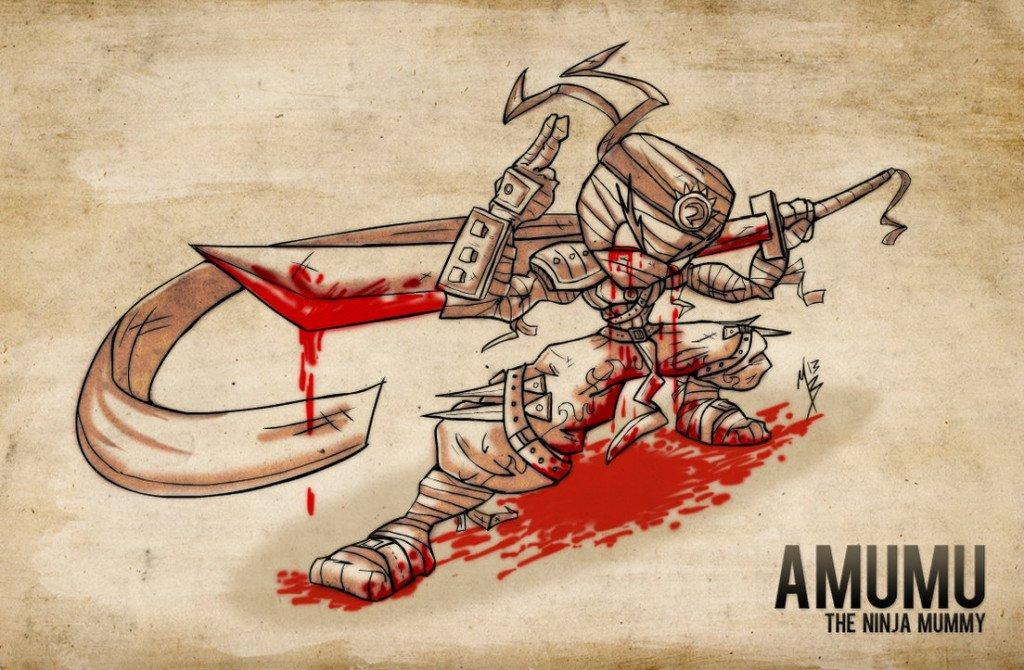 amumu___the_ninja_mummy_by_nhazul_anims-d67bu4l