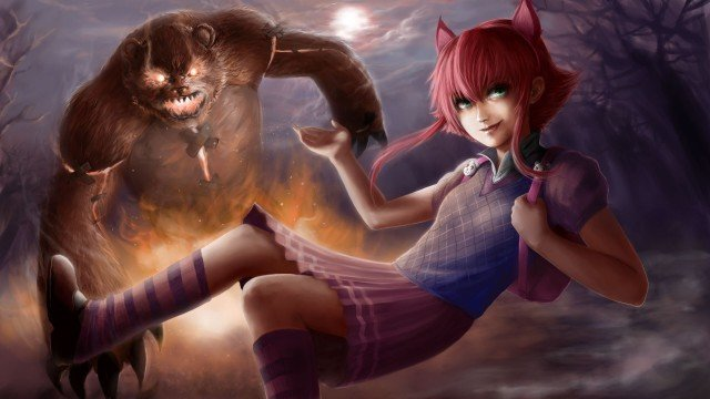 League_of_Legends_Warriors_Annie_Little_girls_Redhead_girl_Games_Fantasy_1920x1080