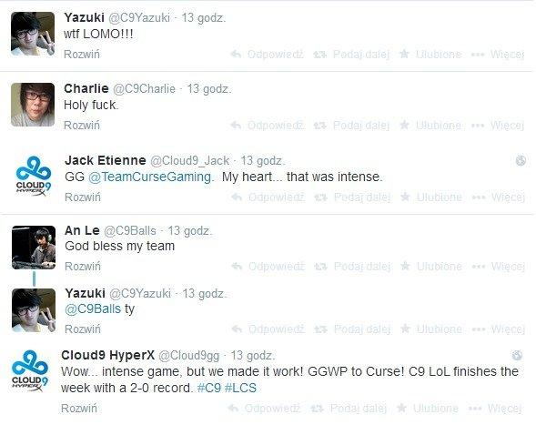 Komentarze Cloud 9