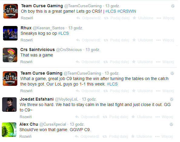 Komentarze Team Curse