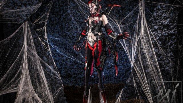elise__the_spider_queen_by_britthebadger-d7fr2u9