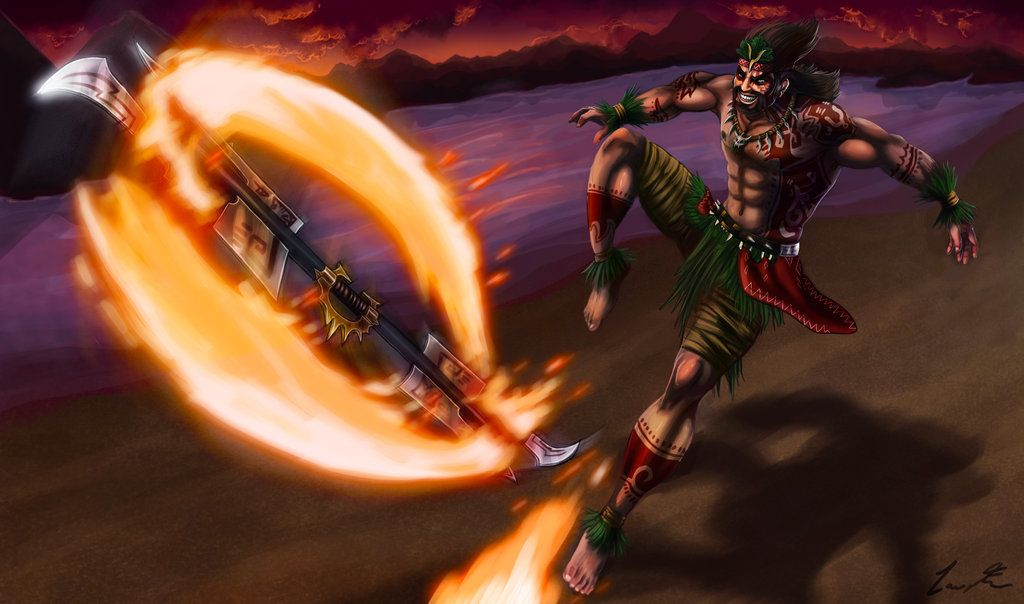 firedancer_draven_new_splash_art_by_dargonite-d5oba0h