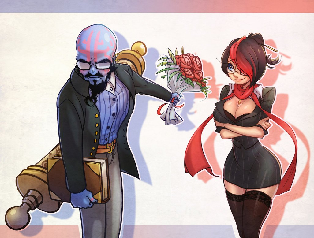 professor_ryze_and_teacher_fiora_by_kukon-d5lcx04