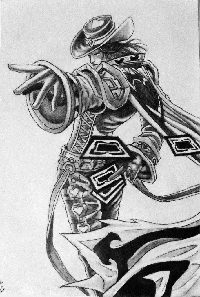 League-Of-Legends-Twisted-Fate-Single-Sketch-Wallpaper
