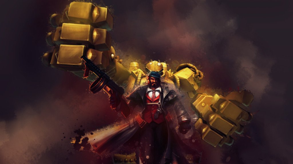 league_of_legends_wallpaper_botlane_graves_blitz_by_selack-d6t4x6y