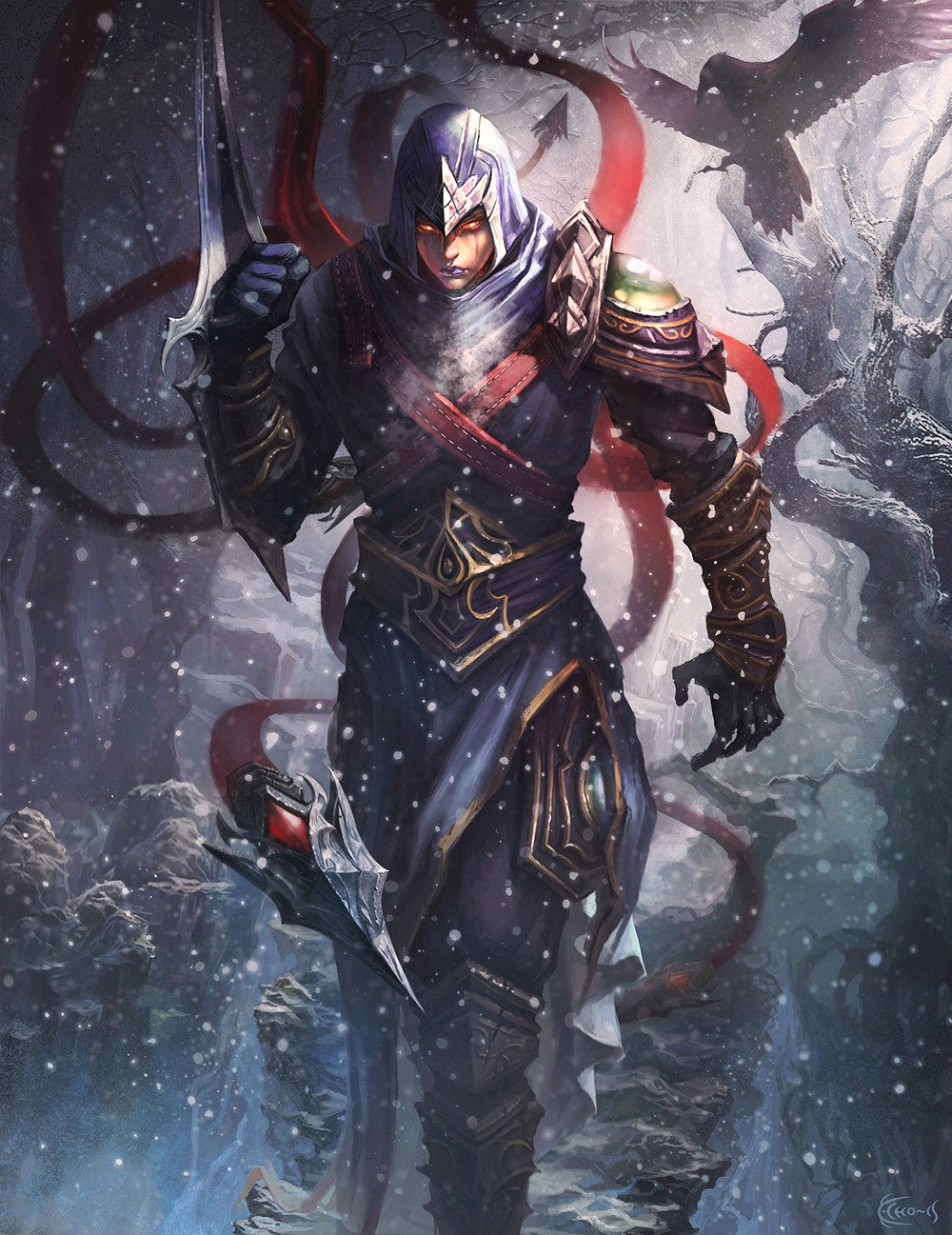 Talon hunting