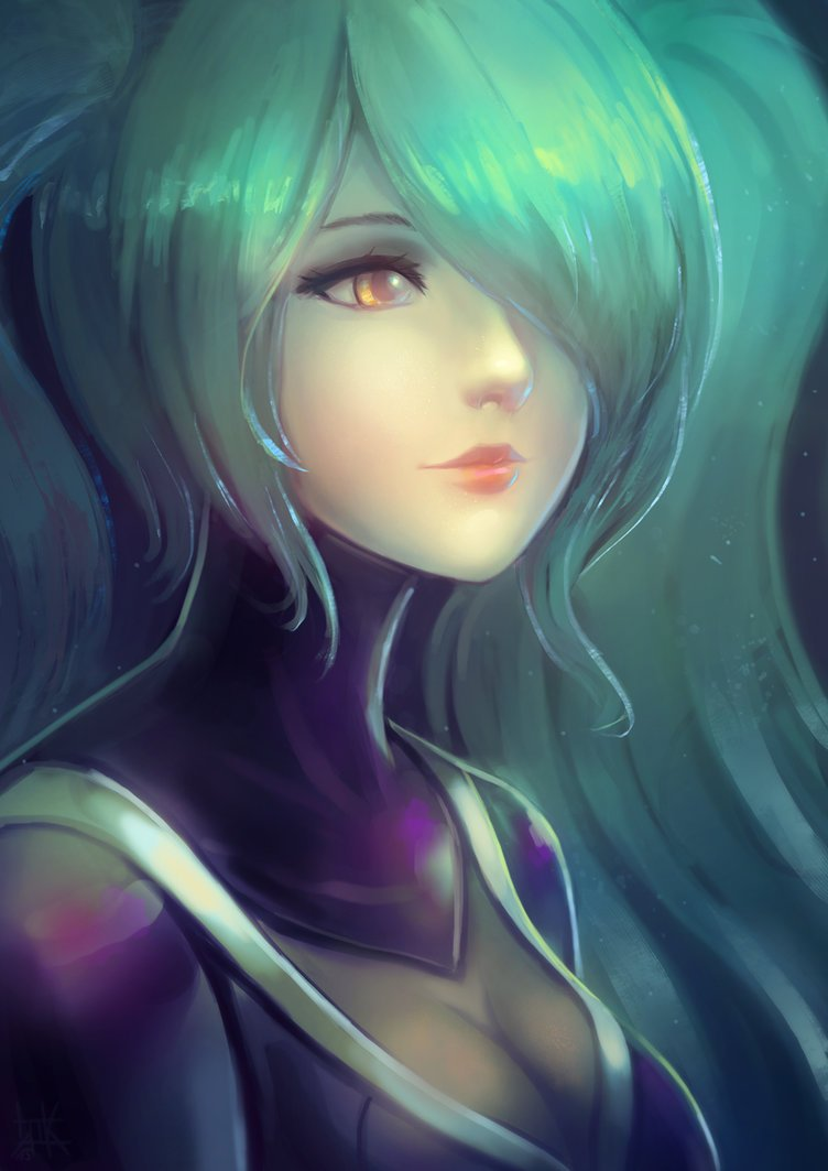 lol___dj_sona_kinetic_portrait_by_cubehero-d8kgk3i