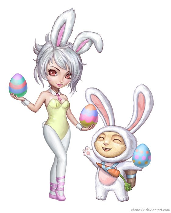 bunny_riven_and_teemo_by_charasix-d6054h8