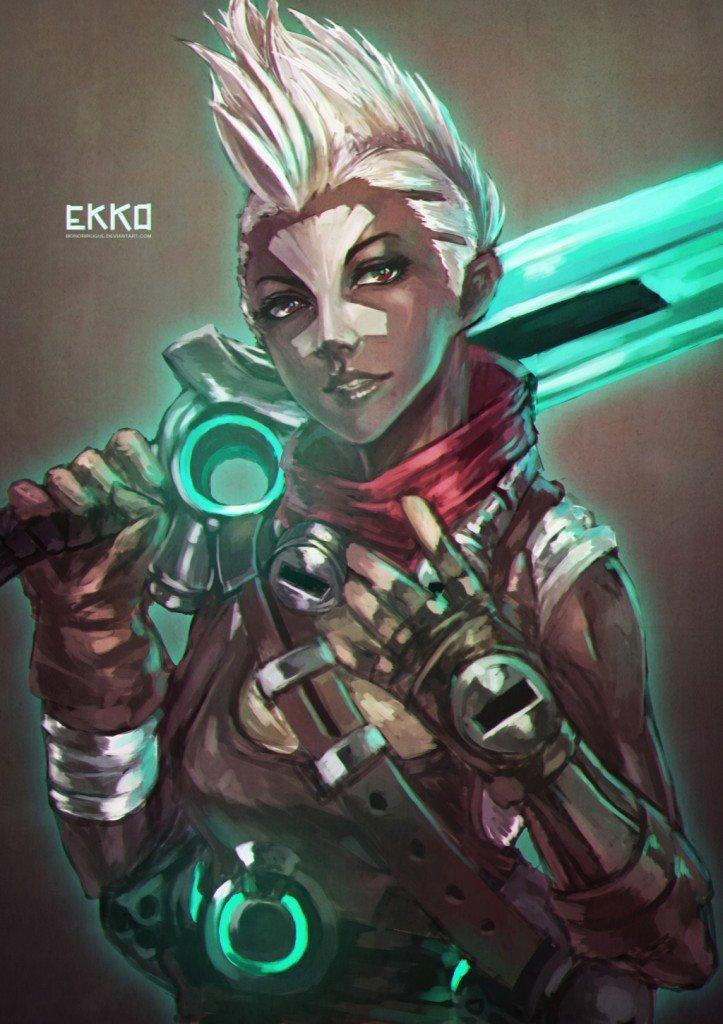 Ekko-League-of-Legends-фэндомы-r63-2108326