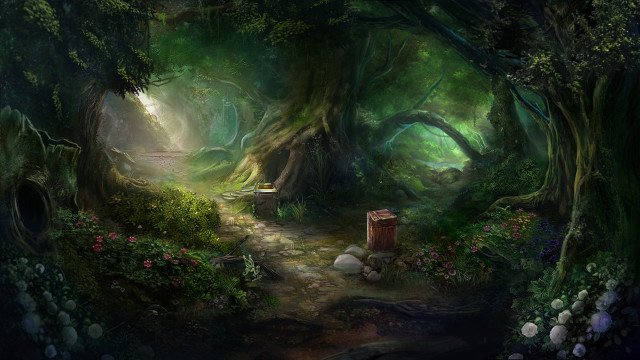 Ionia forest