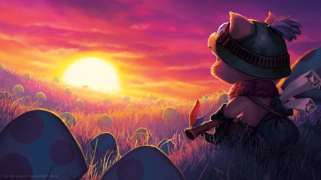 teemo__field_of_dreams_wallpaper_by_robynlauart-d8wtau5