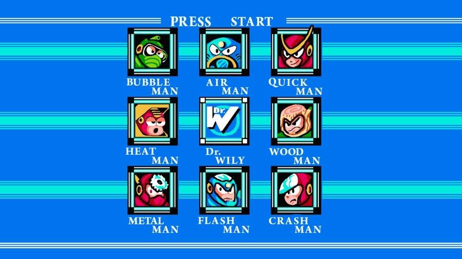 Megaman screen
