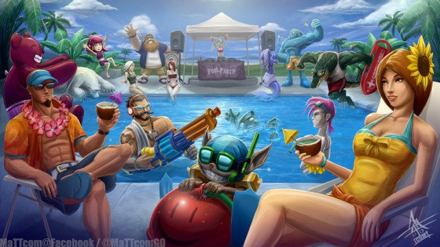 league_of_legends_pool_party_2013_by_mattcomgo-d6lq7ox