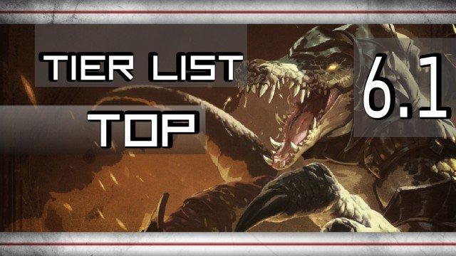 Tier Lista 6.1 TOP
