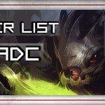 Tier Lista ADC