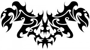 Floral-tribal-tattoo-vector-material-15