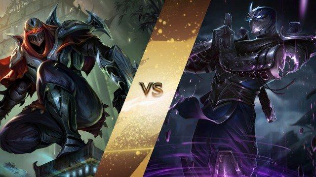 Shen vs Zed