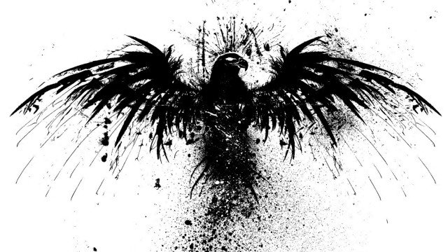skull_art_fantasy_head_logo_bird_black_hd_wallpaper_1920x1080