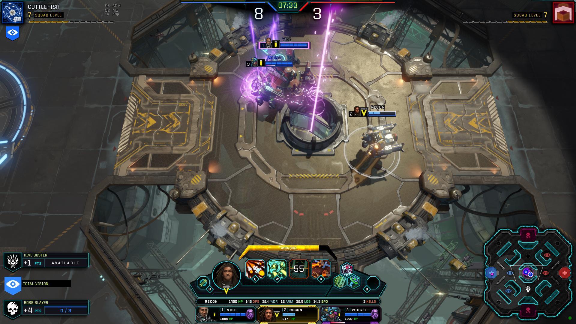dropzone game screenshot