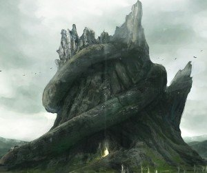 fantasy_mountain_art_background_wallpaper